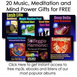 20 Music, Meditation and Mind Power Gifts